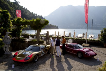 The glamour of the seventies revived at the Concorso d'Eleganza Villa d'Este 2015