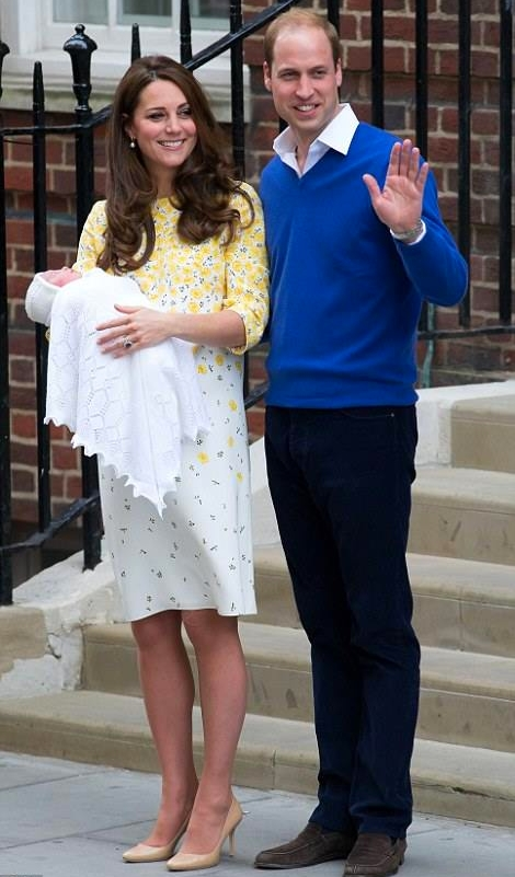 Congratulations to Duchess Kate and the royal family on the birth of their baby girl