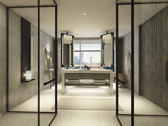 Conrad Manila debuts Smart Luxury in the Philippines-2016-deluxe room bathroom