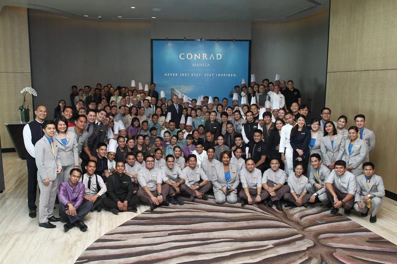 Conrad Manila debuts Smart Luxury in the Philippines