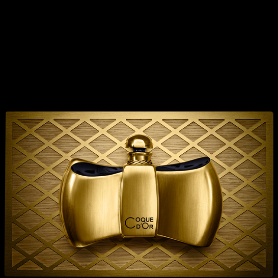 Coque d'Or bottle designed by Jacques Guerlain in 1937