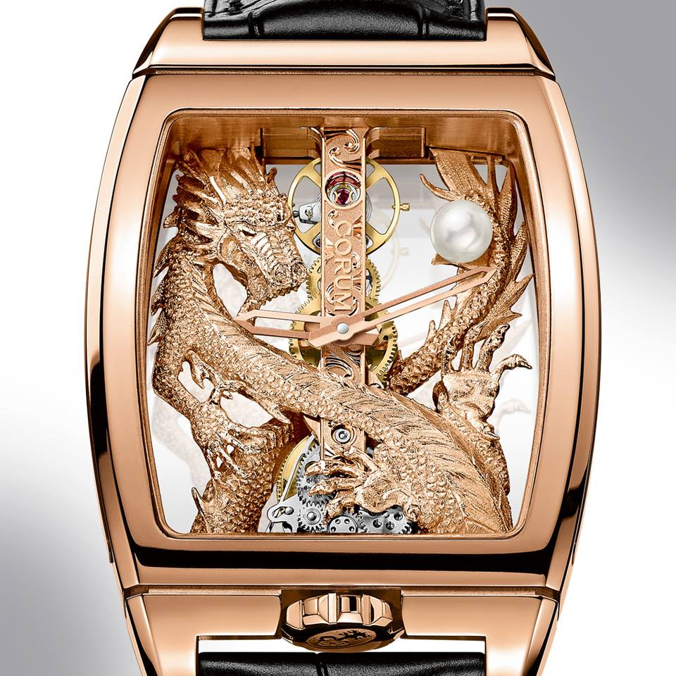 Corum Golden Bridge Dragon -