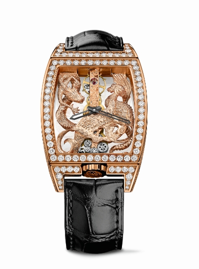 Corum Golden Bridge Dragon & Phoenix 2015-