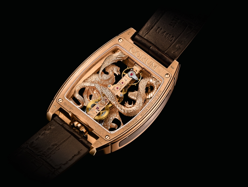 Corum Golden Bridge Dragon & Phoenix 2015