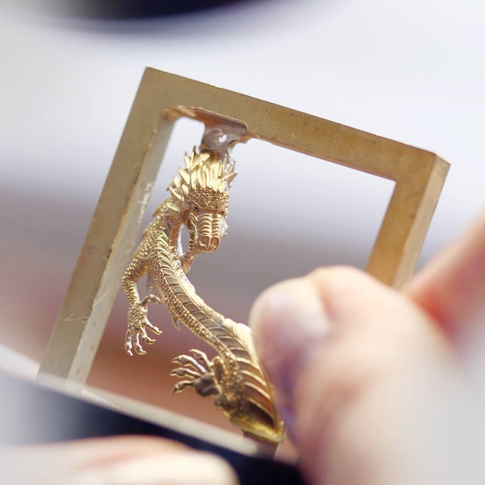 Corum Golden Bridge Dragon watch