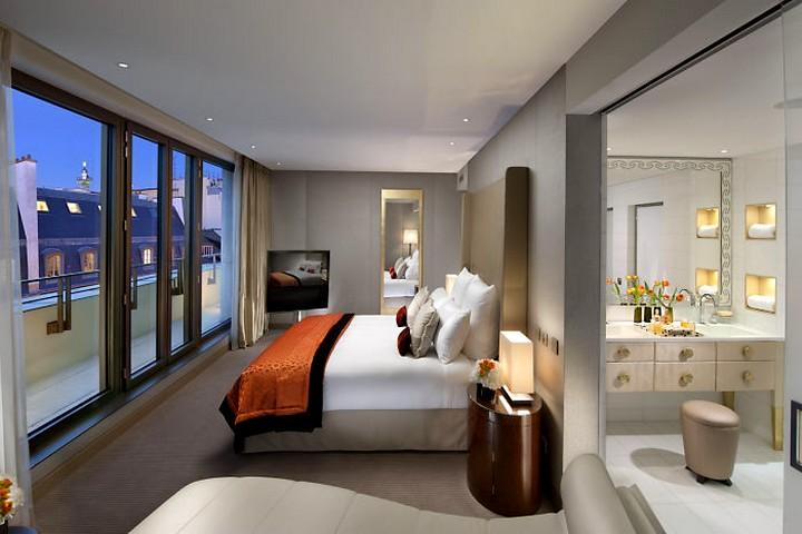 Couture Suite Bedroom Mandarin Oriental Paris