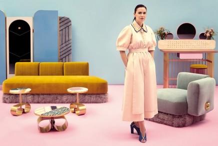 2016 Design Miami/: Cristina Celestino's VIP 'Happy Room' for Fendi