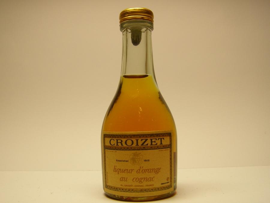 Croizet Liqueur d'Orange au Cognac