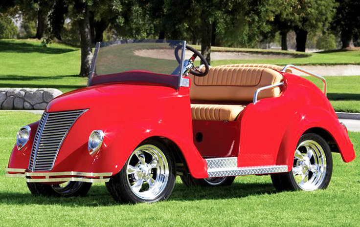 Customized GolF Carts - Smoothster-Golf-Cart