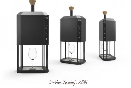 D-Vine Gravity sommelier machine