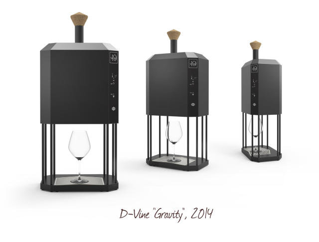 D-Vine Gravity sommelier machine - 2014 model