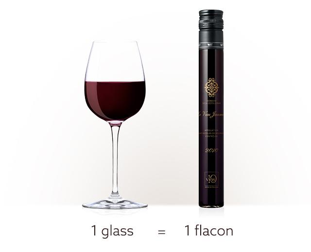 D-Vine sommelier machine-100ml flacon 1 glass of wine