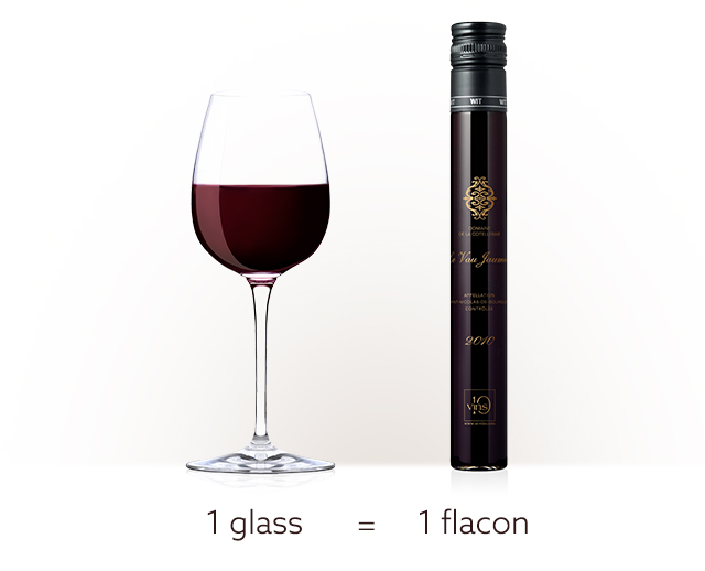 D-Vine sommelier machine-100ml flacon 1 glass of wine