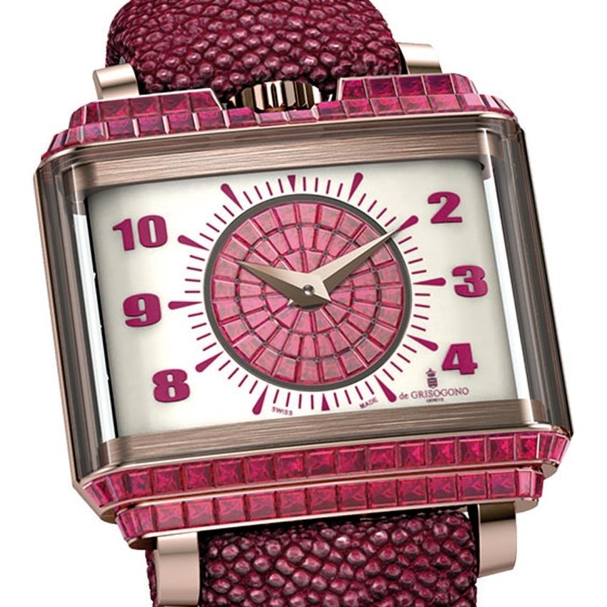 DE GRISOGONO New Retro Lady Taille Baguette watch -