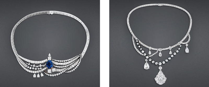DIOR new High Jewelry collection ´Dior A Versailles´ Dior-blue