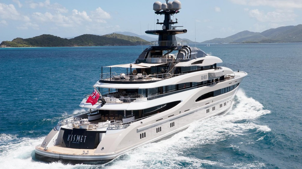 DISPLACEMENT MOTOR YACHT OF 1,300GT TO 2,999GT OF 75M AND ABOVE - KISMET