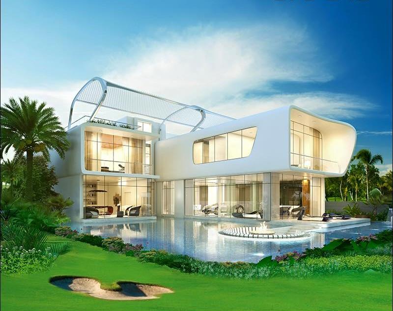 Damac Properties - Ettore 971 Bugatti styled villas