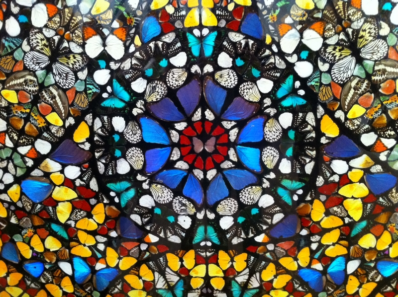 Damien Hirst's Butterfly mandalas