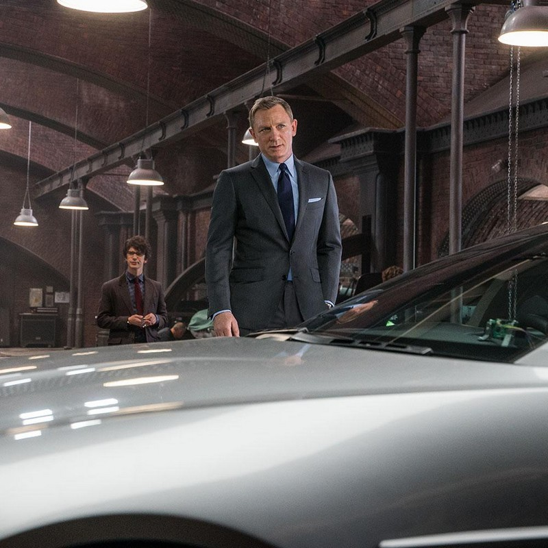 Daniel Craig in TOM FORD -James Bond outfits in SPECTRE 2015--