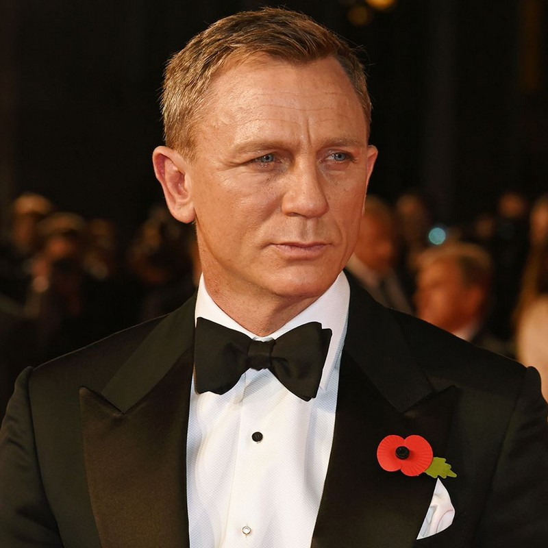 Daniel Craig in TOM FORD - World Premiere of James Bond SPECTRE in London
