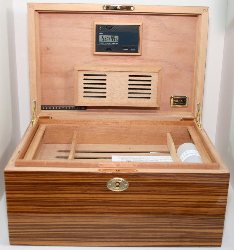 Daniel Marshall limited edition cigar humidor-