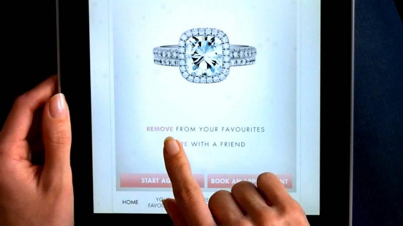 De Beers bridal app