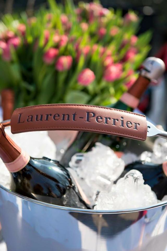 De Keukenhof flower show has been opened in The Netherlands - Great to celebrate with Laurent-Perrier Cuvee Rose
