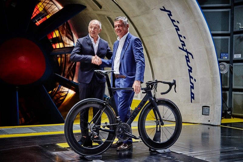 De Rosa SK Pininfarina bike presentation