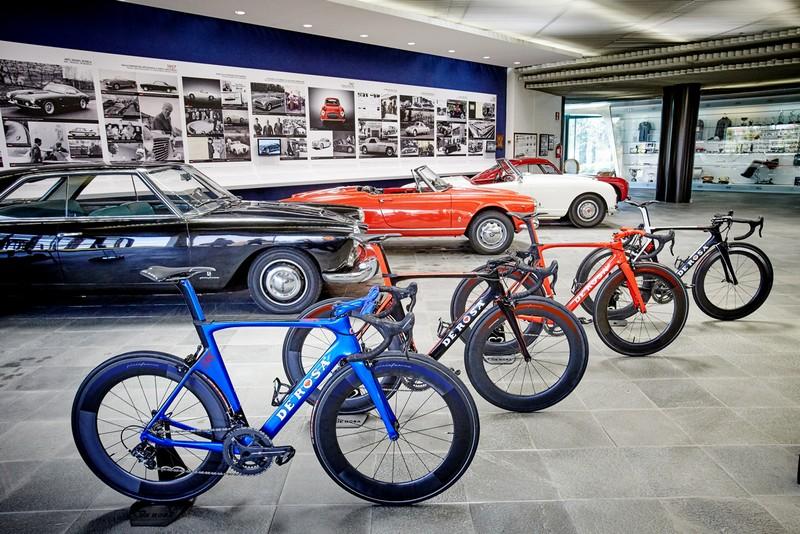 De Rosa SK Pininfarina bike--showroom