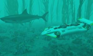 DeepFlight Dragon-personal-submarine-Deep Flight 2014 launch