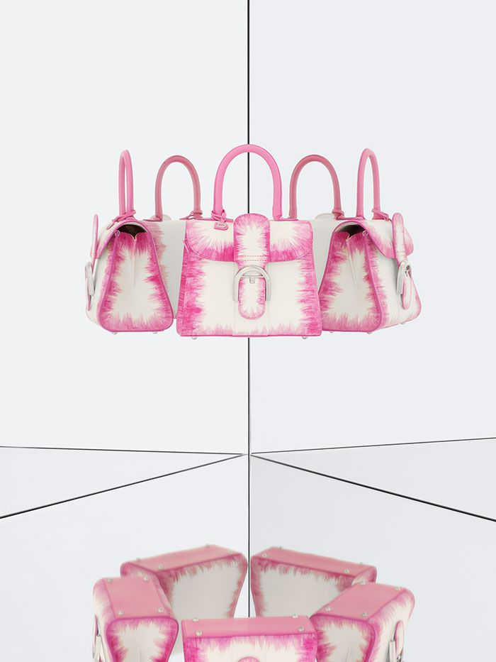 Delvaux bags Spring Summer 2015-brillant-mini-cuir-oeillet-flamingo