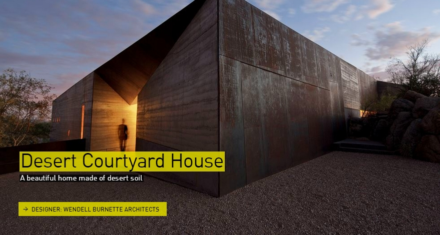 Desert Courtyard house - The Designs of the Year 2015 nominees @ Design Museum London