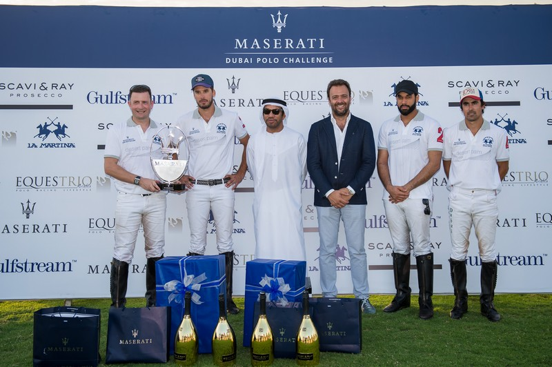 Desert Palm - the winner of the first maserati Dubai polo Challenge