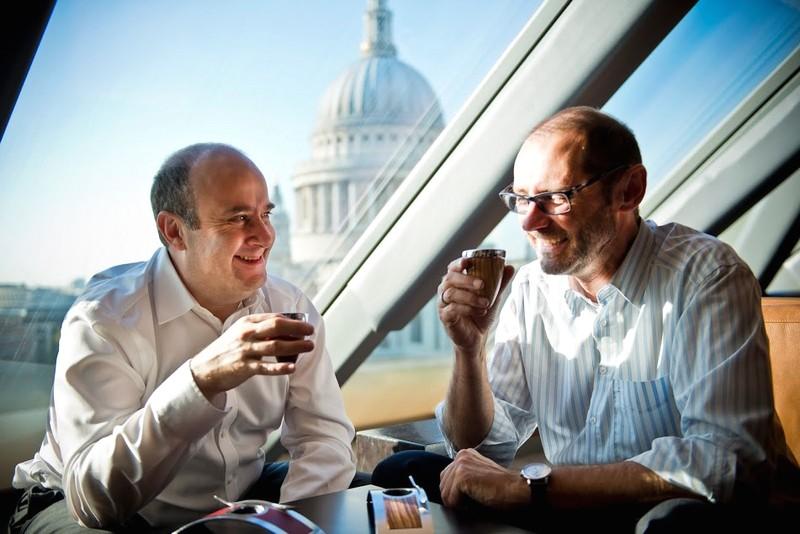Deviehl Luxury Coffee Cup -Deivehl Company Founders