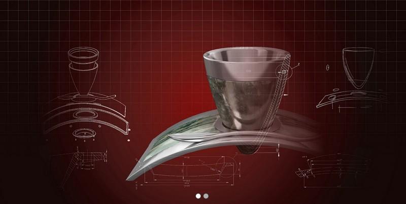 Deviehl Luxury Coffee Cup - Scientific approach