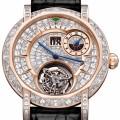 Diamond MasterGraff Grand Date Dual Time Tourbillon watch