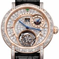 Diamond MasterGraff Grand Date Dual Time Tourbillon watch