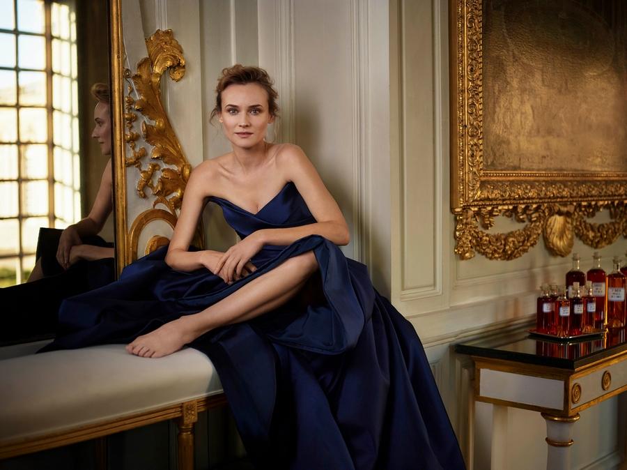 Diane Kruger - Martell Cognac's Ambassador for the brand's 300th anniversary