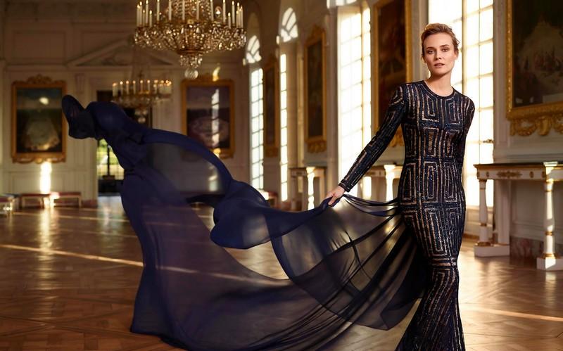 Diane Kruger in Château de Versailles