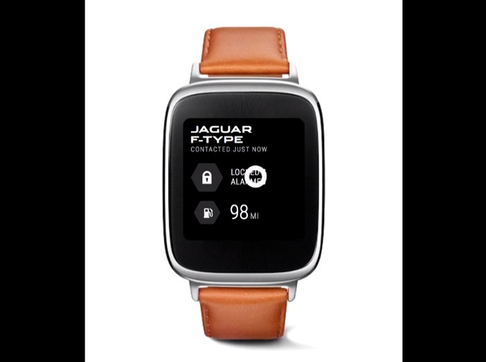 Digital and Connected Car Technologies - Jaguar launches new Android watch-2016