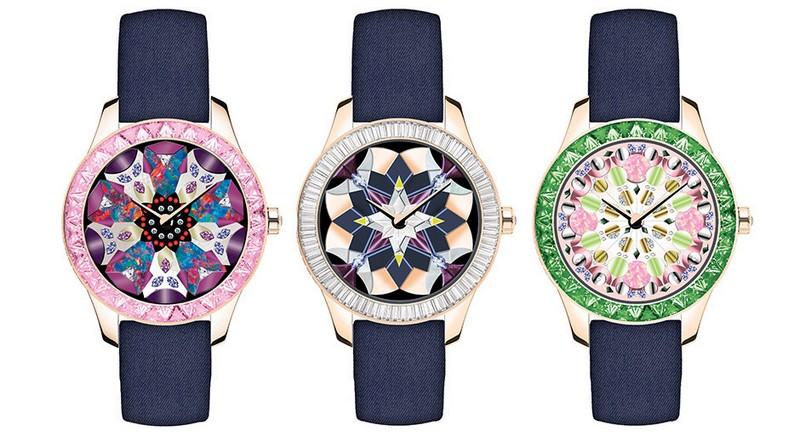 Dior Grand Soir Kaleidiorscope watches