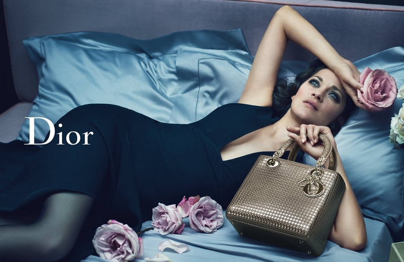 Dior _ Miss Dior handbag Marrillon Cotillard October 2015 ad campaign - 2luxury2 com