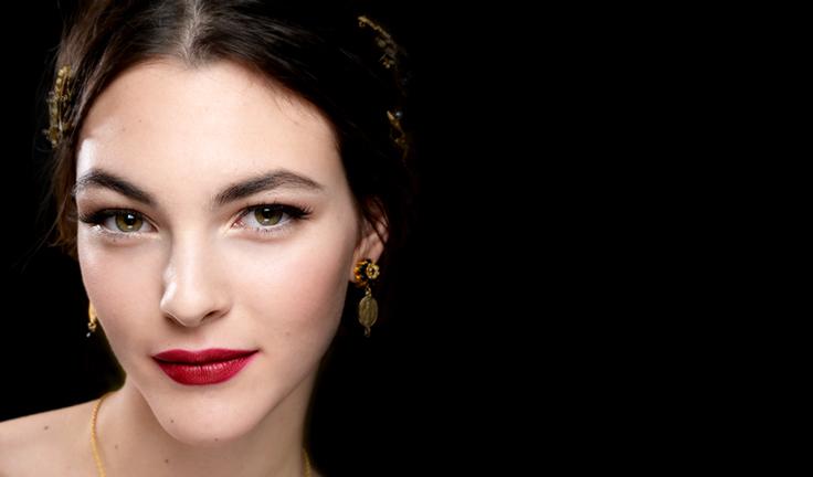 Dolce & Gabban red lips 2015 Summer-