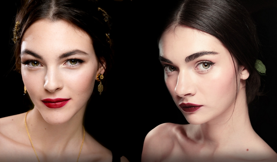 Dolce & Gabban red lips 2015 Summer--