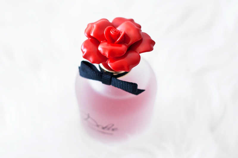 Dolce & Gabbana Parfums Rosa Excelsa bottle top
