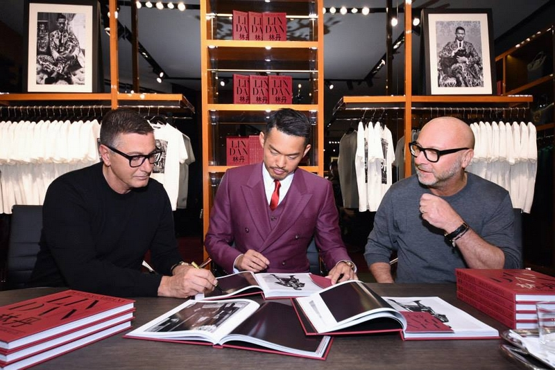 Dolce&Gabbana boutique in Shanghai on March 19th 2015