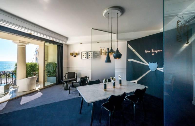 Dom Perignon ephemeral suite at the Hôtel de Paris Monte Carlo 2016-