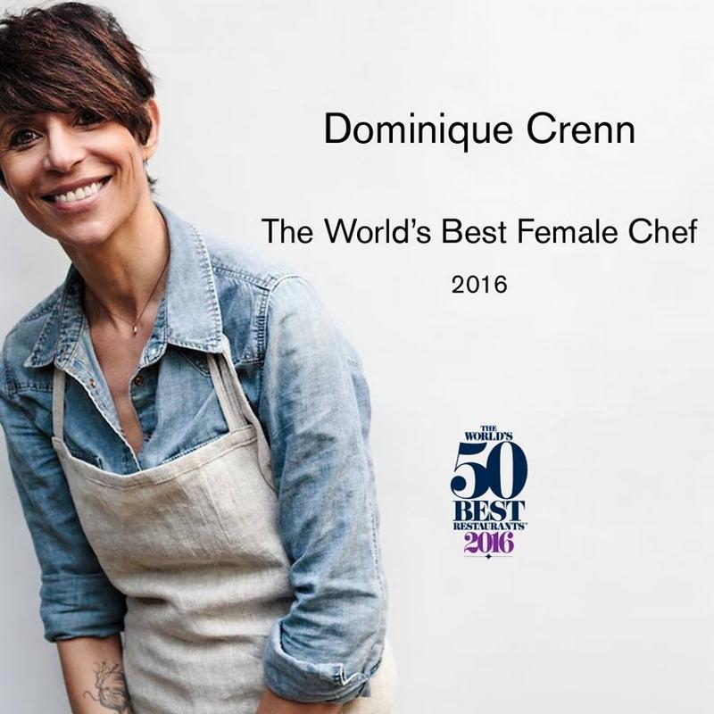Dominique Crenn, The World's Best Female Chef 2016