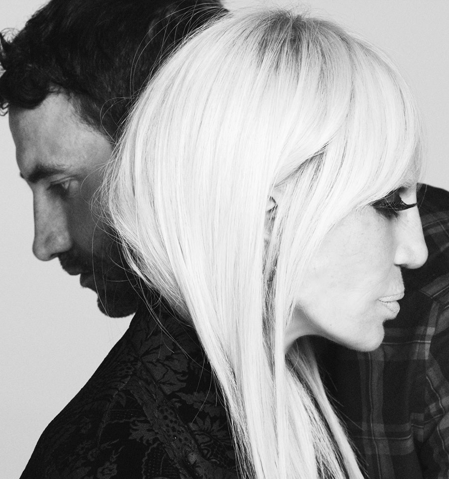 Donatella Versace And GIvenchy Riccardo Tisci
