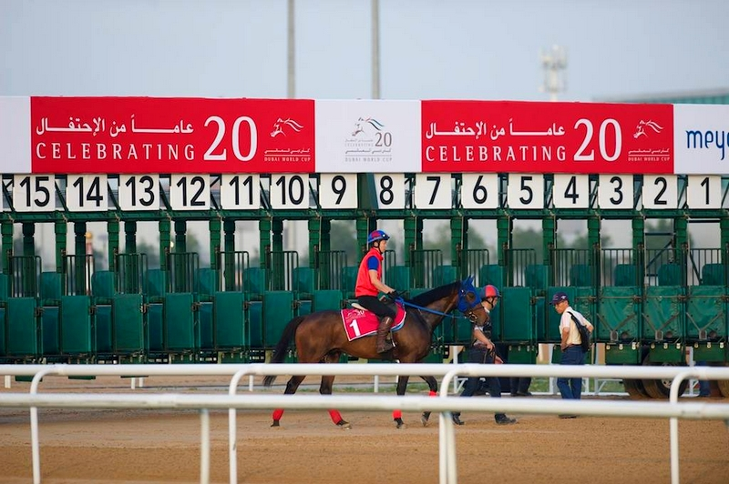 Dubai Racing Club celebrating 20